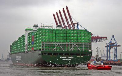 Evergreen Marine in for twenty 11,000 teu boxships